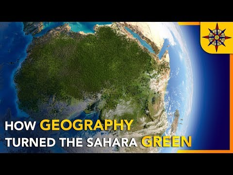Proč Sahara bývala a zase bude zelená