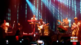 Tarrus Riley Live - Intro / Shaka Zulu Pickney @ Melkweg, Amsterdam (June 19, 2013)