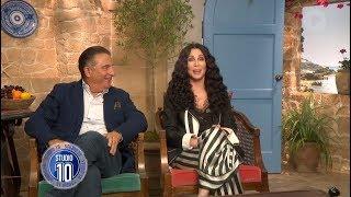 Mamma Mia! 2 Exclusive: Cher & Andy Garcia | Studio 10