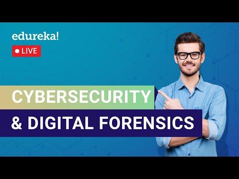 Cybersecurity & Digital Forensics Tutorial   Cybersecurity Training ...