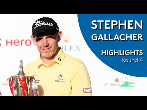 Stephen Gallacher Winning Highlights | 2019 Hero Indian Open