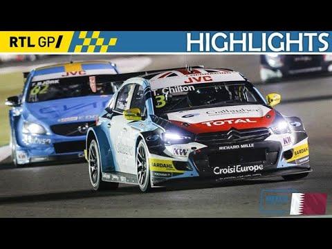 HIGHLIGHTS WTCC Qatar - Race 1 - RTL GP