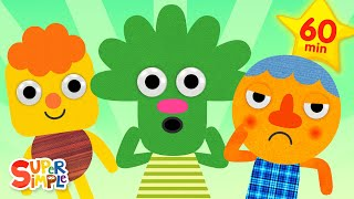 This Is A Happy Face | + More Kids Songs | Super Simple Songs