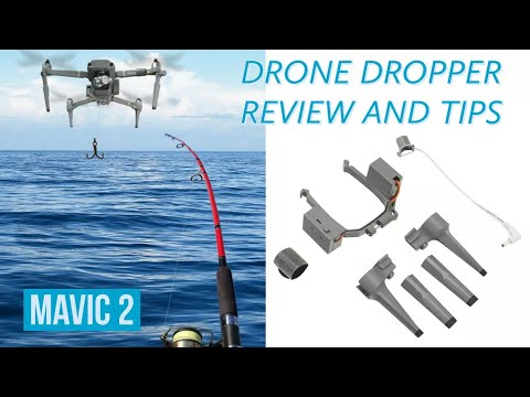 Drone dropper review and tips for-DJI MAVIC 2