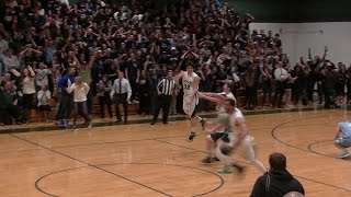 Shore Conference Boys Basketball 15-16:(2)Colts Neck-45 vs (4)Freehold Twp-44 3/7/2016