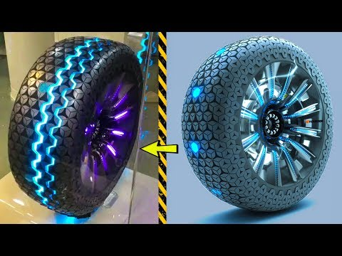 These 5 TECHNOLOGIES INVENTION Coming Soon in India ▶Transforming Tires