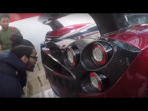 ACURA ARX-05 DPI & Koenigsegg Regera: NEW YORK INTERNATIONAL AUTO SHOW 2018