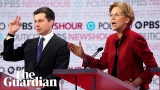Democratic debate: Warren blasts Buttigieg over 'wine cave' fundraiser