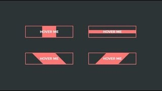 CSS Buttons With Awesome Hover Animation Using HTML & CSS