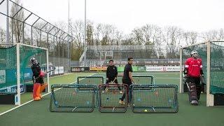 Maddie Hinch and David Harte vs Self Pass | INSANE Hockey Skills