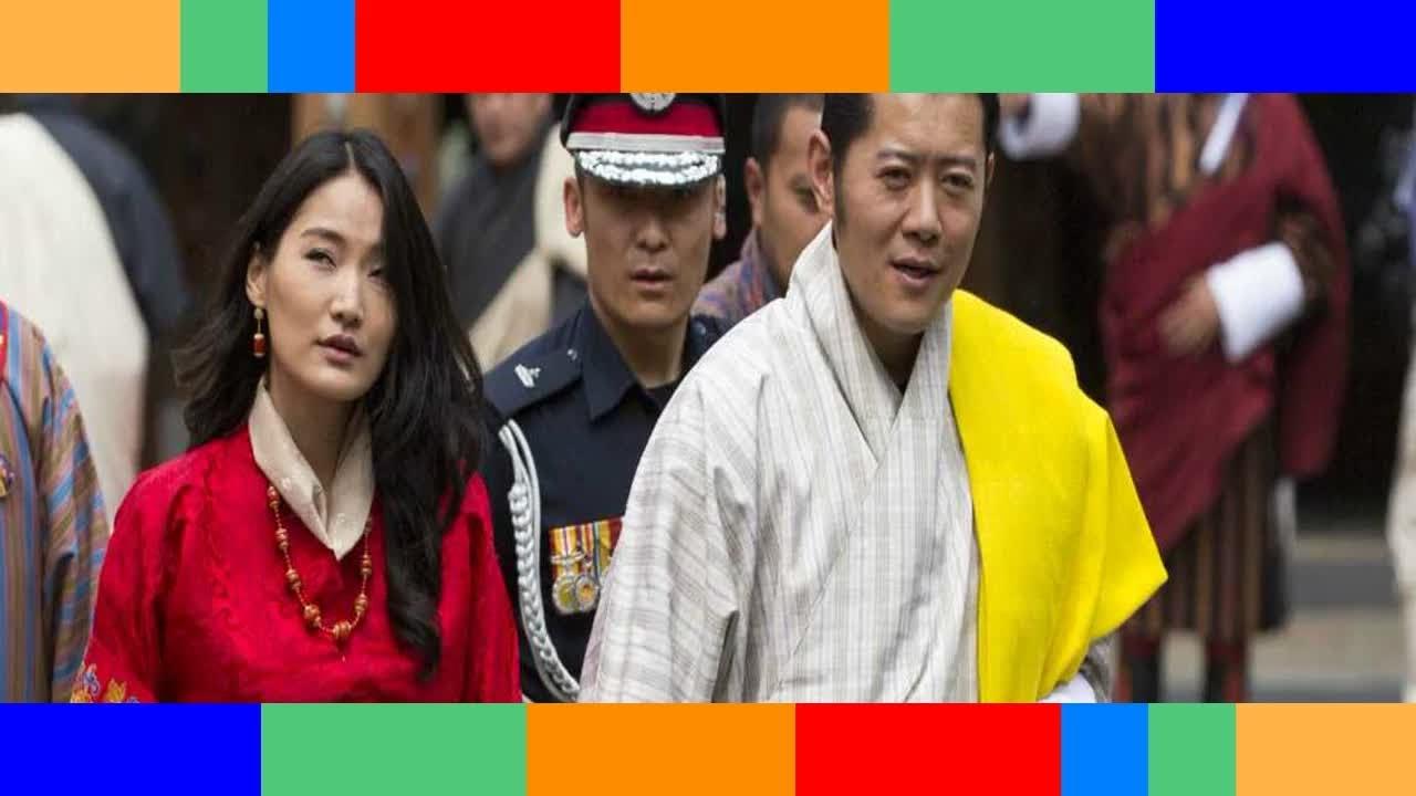 10 ans de mariage de la reine et du roi du Bhoutan la monogamie, leur entorse à la tradition