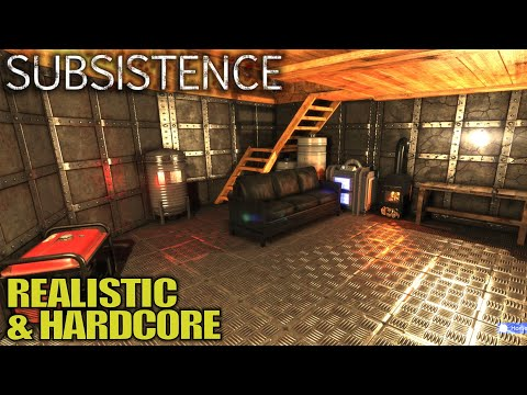 Most Hardcore Survival Game out There | Subsistence Survival Gameplay | E01