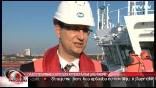 Gāzes terminālis Lietuvas patērētājiem ļauj taupīt