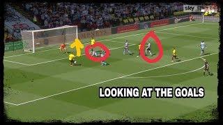 Analysing the goals | Watford 2-1 Newcastle United