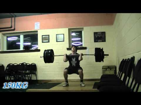 Power Cleans and Squats