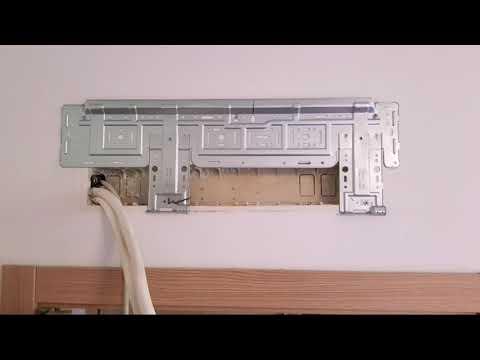 immagine di anteprima del video: Realizzazione impianto condizionamento dualsplit Samsung Windfree