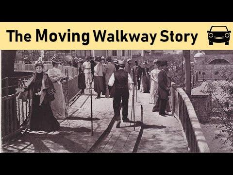 移动的走道故事
