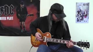 AC/DC - Big Jack cover by RhythmGuitarX
