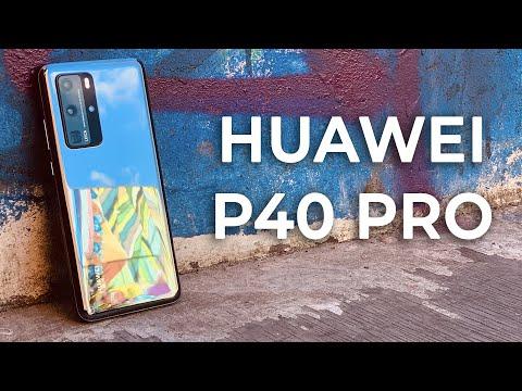 Смартфон Huawei P40 Pro (ELS-NX9) мерцающий серебристый