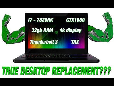 RAZER BLADE PRO - A true desktop Replacement?
