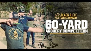 60 Yard Archery Competition  with John Dudley & Andy Stumpf