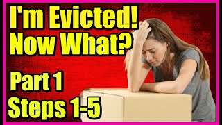 You Got an Eviction Notice?! 9 Vital Steps to Move Into & Live in a Car,Van or SUV. PART 1 Steps 1-5