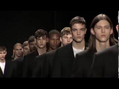 Calvin Klein Collection Men's Fall 2016 Runway Presentation - презентация одежды Calvin Klein