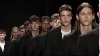 Calvin Klein Collection Mens Fall 2016 Runway Presentation