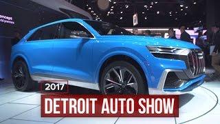 Audi goes fashion forward with the Q8 Concept | 2017 Detroit Auto Show
