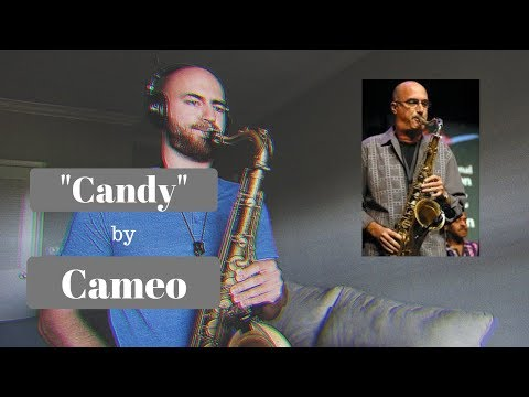 "This is a cover I did of the great Michael Brecker's solo on ""Candy"" by Cameo."