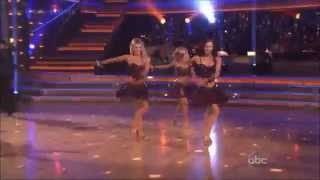 Dance Troupe ~  Domino ~ DWTS ~  First Results Show.avi