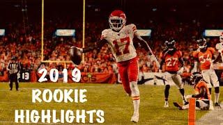 Mecole Hardman Rookie Highlights