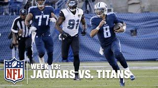 QB on Fire! Marcus Mariota Runs 87 Yards for the TD! | Jaguars vs. Titans | NFL