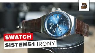 SWATCH SISTEM51 IRONY // Testbericht // Deutsch // 4K