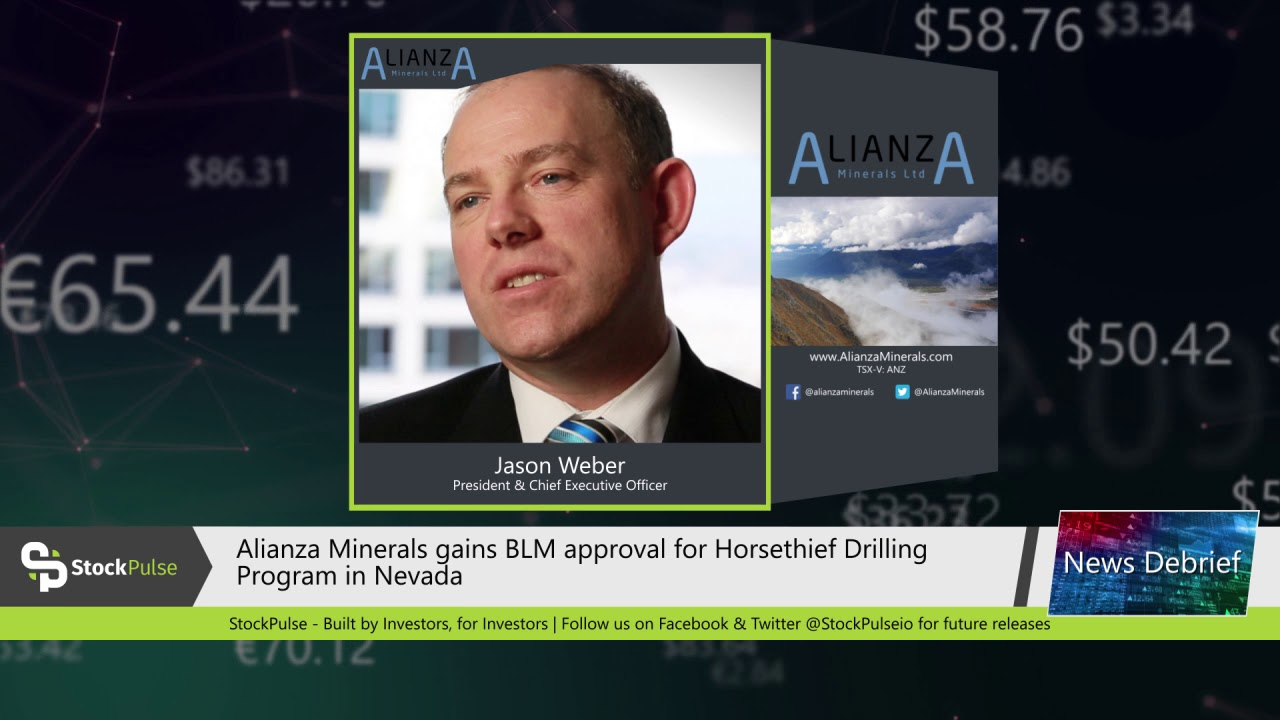 Alianza Minerals gains BLM approval for Horsethief Drilling Program in