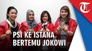 Pengurus PSI Minta Wejangan Ke Jokowi