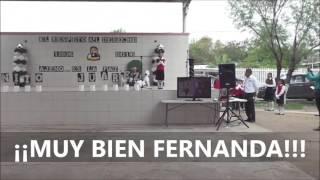 VIDEO POESIA A BENITO JUAREZ FERNANDA 1° A  MARZO 2016