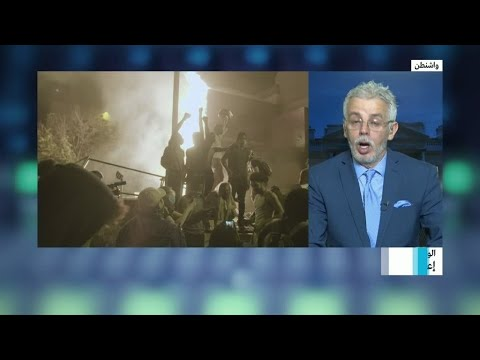 العرب اليوم - شاهد: السلطات الأميركية تقرر فرض حظر التجول في