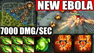 NEW Most Advance CANCER Build - Fire Army COMBO 7000 Dmg/sec EPIC MEGACREEP DEF Dota 2