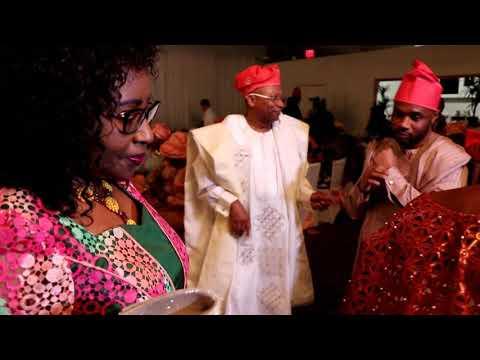 Agbetoba and Henderson Family Baby Dedication
