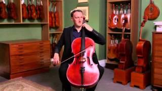 Cello by Benjamin Banks, Salisbury 1785