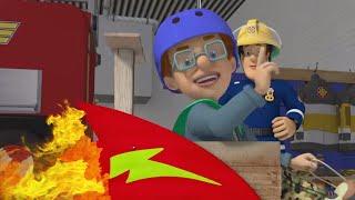 Tragen Sie immer einen Helm! 🔥 Feuerwehrmann Sam   Sicher mit Sam: Straße   Cartoons für Kinder