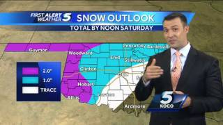 Forecast: Snow showers expected tonight