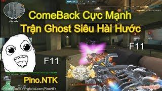 [ Bình Luận Ghost ] Trận Ghost Hài Hước • 6 Nòng VIP ✔ Pino.NTK