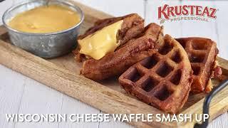 Wisconsin Cheese Waffle Smash Up