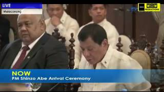 Japan Prime Minister Shinzo Abe Visit in the Philippines