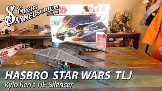 Review HASBRO Star Wars The Last Jedi - Kylo Rens TIE-Silencer - Unboxing deutsch