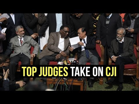 Top Judges Take On CJI In An Unprecedented Press Conference