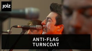Anti-Flag - Turncoat (Live at joiz)