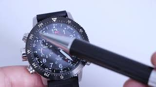 Citizen Promaster ALTICHRON REVIEW And How to USE IT!! BN4044-15E